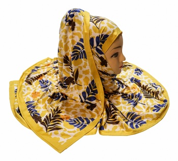 Justkartit Jersey Stretchable Material Multi Color Casual Wear Hijab Scarf Dupatta For Women