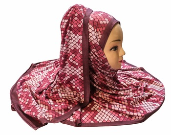 Justkartit Women'S Occasion Wear Jersey Stretchable Printed Hijab Scarf Dupatta