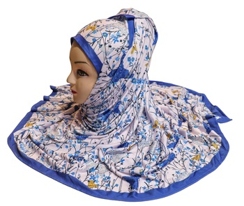 Justkartit Jersey Stretchable Material Occasion Wear Printed Hijab Scarf Dupatta