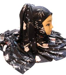 Justkartit Jersey Stretchable Material Daily Wear Printed Hijab Scarf Dupatta