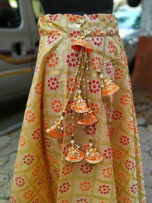 Orange designer-jewellery