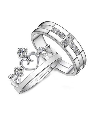 Sterling Couple Rings