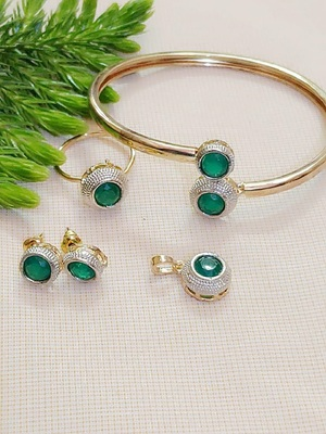 Green Jewellery Combo