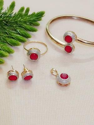 Red jewellery-combo