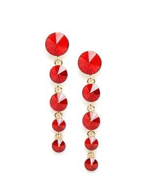 ZeroKaataRed earrings
