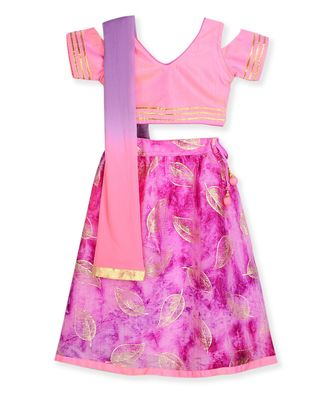 COLD SHOULDER PRINCESS LEHENGA CHOLI