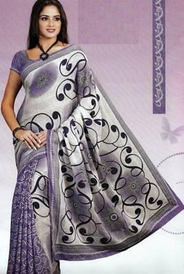 Elegant Cotton Saree With Blouse Piece D.No 975