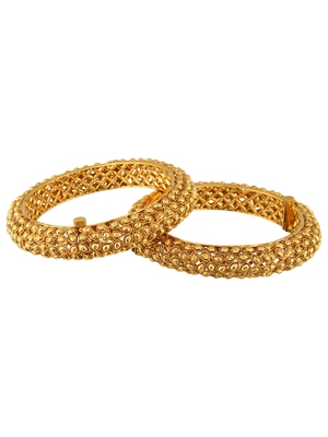 Gold Cubic Zirconia Bangles And Bracelets