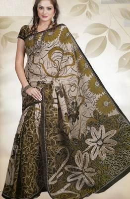 Elegant Cotton Saree With Blouse Piece D.No 988