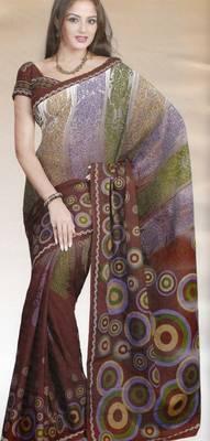 Elegant Cotton Saree With Blouse Piece D.No 992
