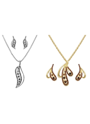 multicolor stone pendants