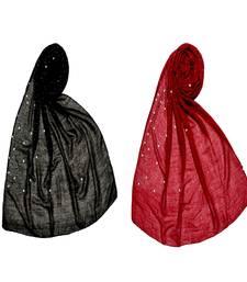 Stole For Women - Set Of 2- Best Seller - Premium Cotton Rain Drop Stole