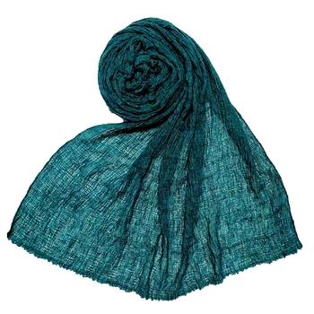 Green  Premium Plain Cotton Hijab