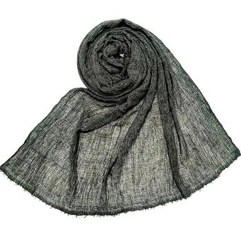 Grey Premium Plain Cotton Hijab