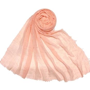 Pinkish Pink  Premium Plain Cotton Hijab