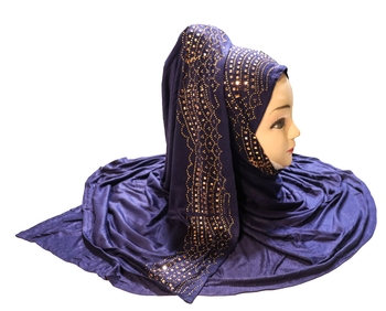 Justkartit Women's Hosiery Soft Cotton 4-Way Hijab Scarf Dupatta