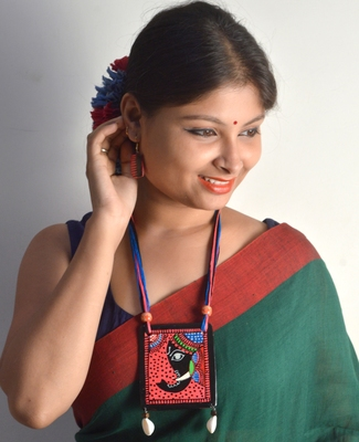 Red Ceramic Necklace Sets For Women