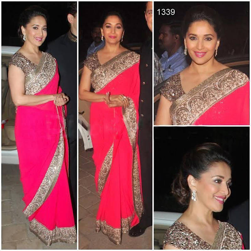 6cfabf62da02a9 Cart is Empty. Looks like you have no items in your shopping cart. Return  to shop. Home · Women · Sarees · Madhuri Dixit Sarees  pink plain georgette  ...