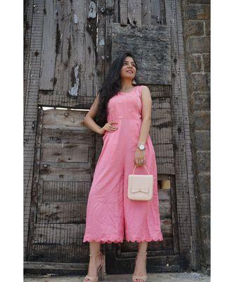 Pink Abhla Jumpsuit
