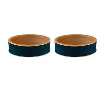 Voilet Plain Acrylic Bangle