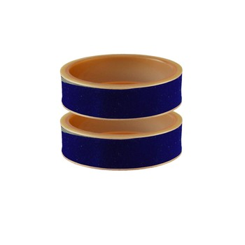 Blue Plain Acrylic Bangle