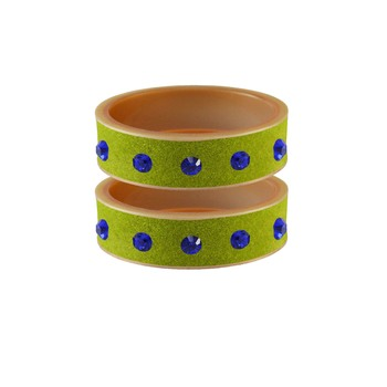 Parrot  Stone Stud Acrylic Bangle