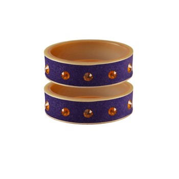 Jamani Stone Stud Acrylic Bangle