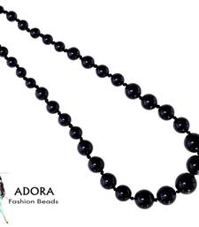 Buy Black onyx plain Round Necklace Necklace online