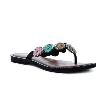 Trends & Trades Hand Stitched Women Flats in Genuine Leather