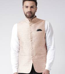 Multicolor Plain Cotton Nehru Jacket