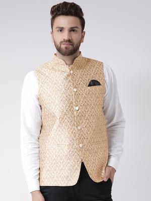 Multicolor Plain Cotton Nehru Jacket