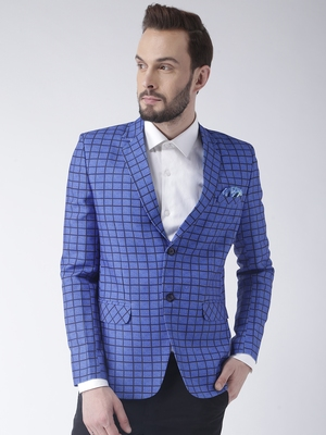 Multicolor Plain Polyester Stitched Men Blazers