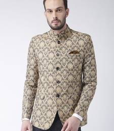 Multicolor Printed Polyester Stitched Men Blazers
