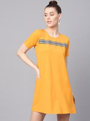 Mustard Tent Athleisure Dress