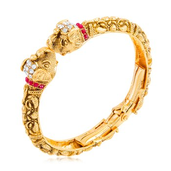 Gold diamond bangles-and-bracelets