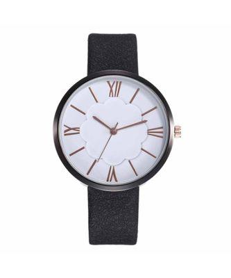 Ahsa Floral Black-White Watch