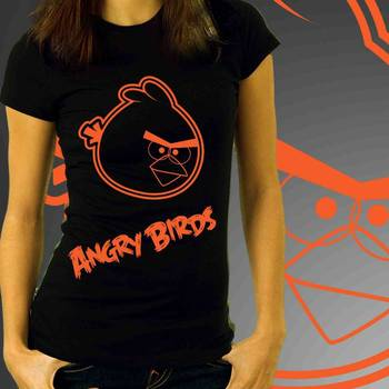 Angry Bird Womens T-shirt at Low Price