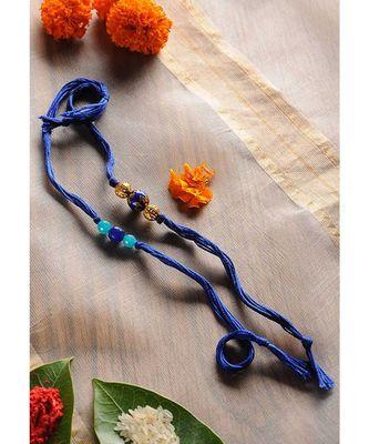 Handmade Semi Precious Stone Rakhsi - Set Of 2