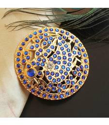 Beautiful Blue Peacock Designer Hair Jewel ( Rakodi)