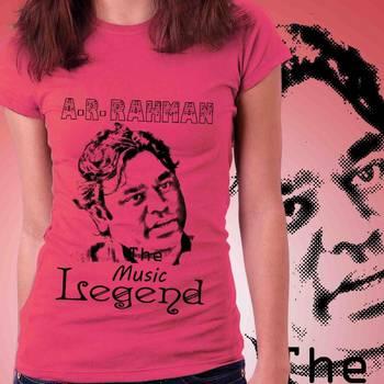 Ar.Rahman Music Legend Womens T-shirt