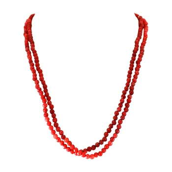 Red agate necklaces