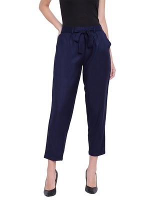 Women's Fashionable Stylish Cool Blue Trousers