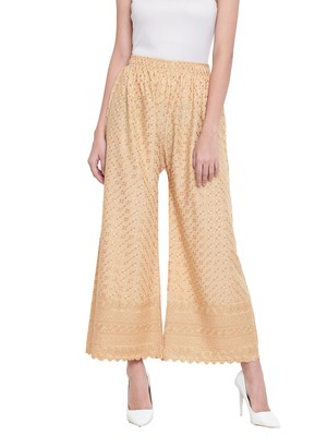 Women's Fashionable Stylish Golden Trousers
