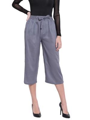 Women's Fashionable Stylish Grey Trousers