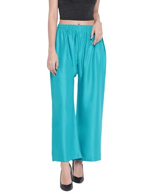Women's Fashionable Stylish Parrot Green Trousers