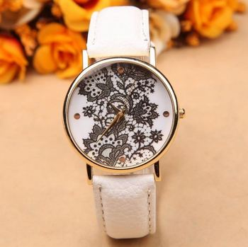 Morcrest White Lace Watch