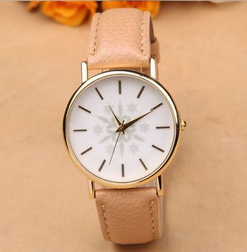 Beige Statement Watch