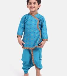 Green Cotton Dhoti Kurta Krishna Kanhaiya Suit DressFor Baby Boy
