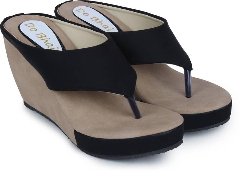 multicolor synthetic Heels Sandal For Women - Do Bhai - 3026418