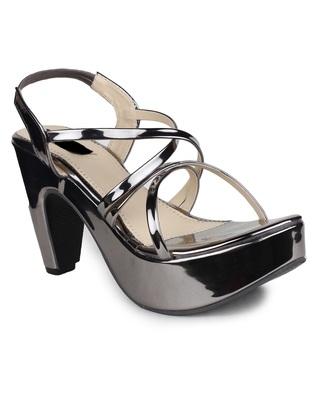 multicolor synthetic Heels Sandal For Women
